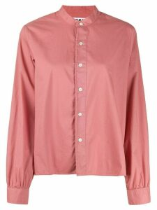 Hope band collar shirt - PINK