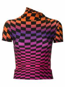 À La Garçonne printed turtleneck blouse - Multicolour