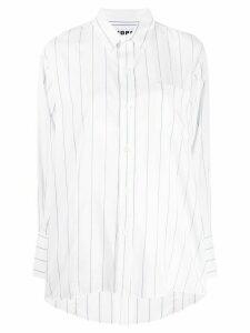 Hope striped print shirt - White