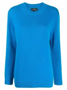 Theory relaxed-fit cashmere jumper - Blue