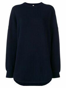 Extreme Cashmere round neck jumper - Blue