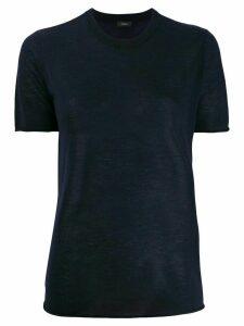Joseph cashmere crew-neck T-shirt - Blue
