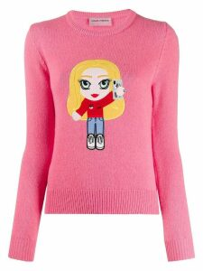 Chiara Ferragni Mascotte logo jumper - PINK