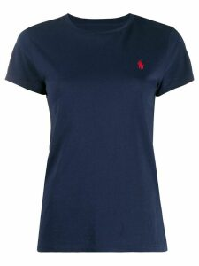 Polo Ralph Lauren embroidered logo cotton T-shirt - Blue