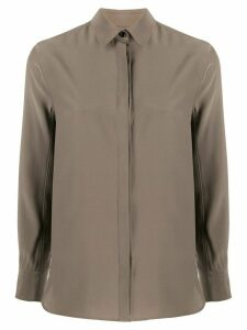 Rag & Bone Anderson loose-fit silk shirt - Grey
