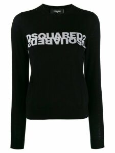 Dsquared2 logo knitted jumper - Black