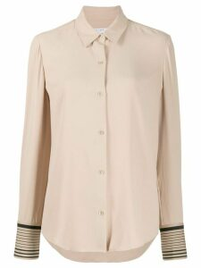 Equipment slim fit shirt - NEUTRALS