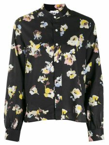 Hope floral-print shirt - Black