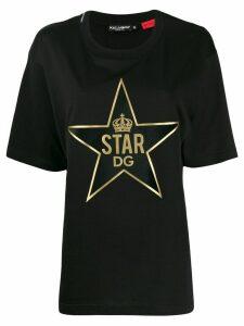 Dolce & Gabbana DGStar patch T-shirt - Black