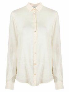 Forte Forte My Shirt crinkle shirt - NEUTRALS