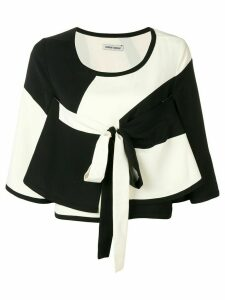 Henrik Vibskov colour-block blouse - Black