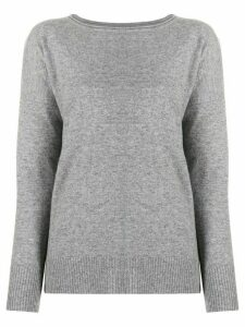 Allude cable knit jumper - Grey