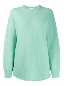 Extreme Cashmere round neck jumper - Green