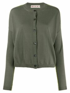 Marni button up cardigan - Green
