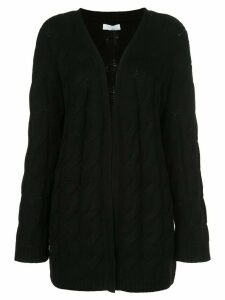 SABLYN Blair cable-knit cardigan - Black