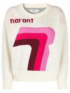 Isabel Marant Étoile Marant print jumper - NEUTRALS