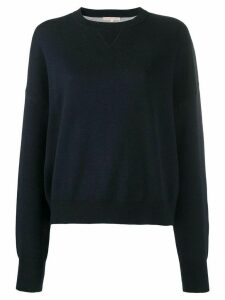 FILIPPA-K Soft Sport relaxed fit long-sleeve jumper - Blue
