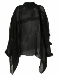 Litkovskaya Mavka sheer blouse - Black