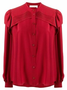 Chloé ruffled blouse - Red