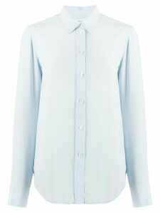 Filippa K loose-fit silk shirt - Blue