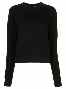 John Elliott plain crew-neck sweatshirt - Black