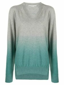 Stella McCartney gradient relaxed jumper - Grey