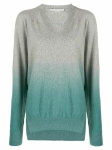 Stella McCartney gradient relaxed jumper - Grey