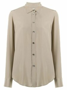 Filippa K loose-fit silk shirt - Grey