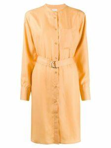 Filippa K Vera shirt dress - ORANGE