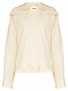 Jil Sander Maylin collared shirt - NEUTRALS