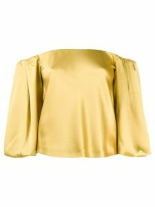 Pinko off the shoulder top - Yellow