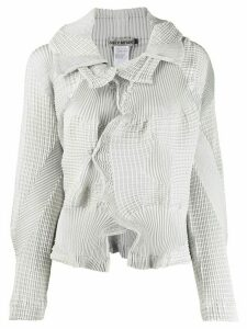 Issey Miyake deconstructed asymmetric top - Grey