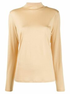 Filippa K roll-neck long sleeve top - NEUTRALS