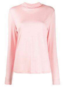 Filippa-K roll-neck long sleeve top - Pink
