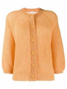 Filippa-K Charlotte button-up cardigan - ORANGE