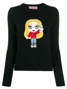 Chiara Ferragni Mascotte logo jumper - Black