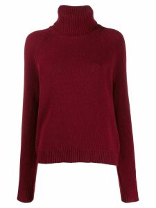 Filippa-K Kathleen roll-neck jumper - Red