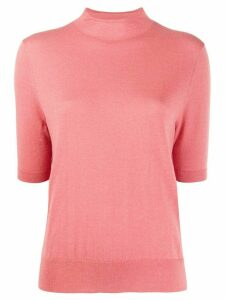 Filippa-K Evelyn short-sleeve jumper - PINK
