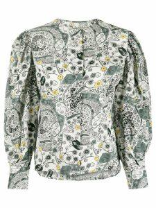 Isabel Marant Étoile paisley print shirt - White