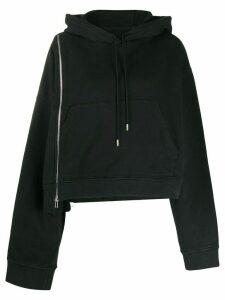 Maison Margiela zip-detail hoodie - Black