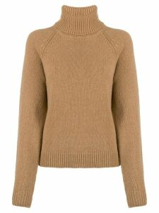 Filippa K Kathleen roll neck jumper - Brown
