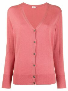 Filippa-K v-neck knit cardigan - PINK