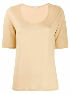 Filippa-K scoop neck T-shirt - Neutrals