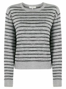 Rag & Bone stripe print jumper - Grey