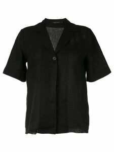 Nobody Denim Gallery boxy fit shirt - Black
