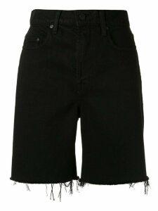 Nobody Denim Tyler denim shorts - Black