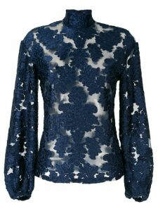 Alice McCall lace pattern blouse - Blue