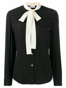 RedValentino pussy bow detail shirt - Black