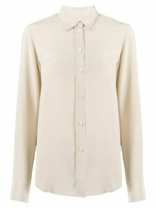 Filippa-K loose-fit silk shirt - NEUTRALS
