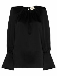 Khaite kirsty cut out top - Black